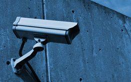 Câmeras, alarmes e sistemas de segurança eletrônica